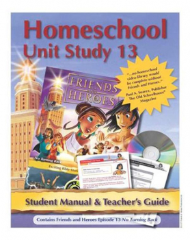 Friends & Heroes Series 1 Episode 13 Homeschool Unit Study CD-ROM