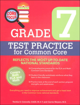 Test Practice for Common Core Grade 7 (BCFW)