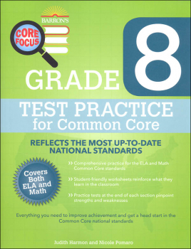 Test Practice for Common Core Grade 8 (BCFW)