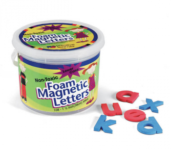 "Foam Magnetic Letters - Lower Case (1 1/2"")"