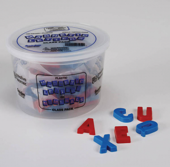 "Magnetic Plastic Letters - Upper Case (1 1/2"")"