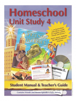 Friends & Heroes Series 1 Episode 4 Homeschool Unit Study CD-ROM