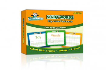 Visual Dry Erase Sight Word Flashcards