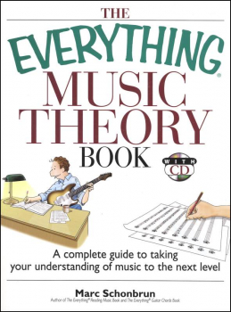 Everything Music Theory Book with CD