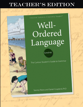 Well-Ordered Language Level 4A Teacher's Edition