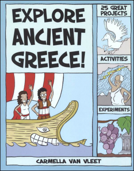 Ancient Civilizations: Greeks! : With 25 Social Studies Projects For Kids