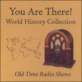 You Are There World History Coll MP3 CD
