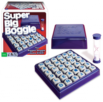 Super Big Boggle Game