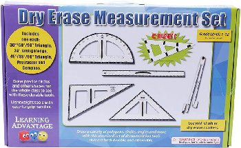 Dry Erase Magnetic Measurement Set