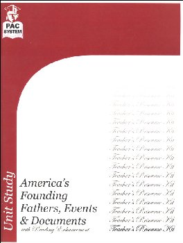 America's Founding Fathers, Events & Documents Teacher Resource Kit