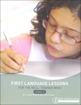First Language Lessons Level 4 Instructor Guide