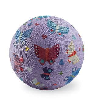 Butterflies Pink Playground Ball - 7 inch