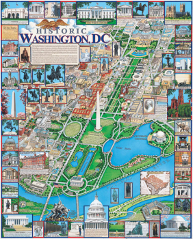 Washington, DC Puzzle (1000 pieces)