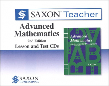 Saxon Teacher for Advanced Math (2E) CD-ROM set