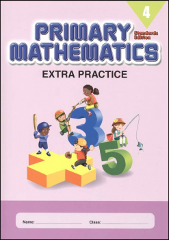 Extra Practice for Primary Math 4 Standards Edition