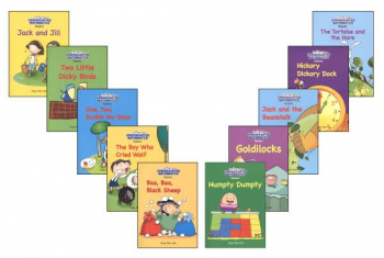 Kindergarten Math Readers Set of 10 Standards Edition