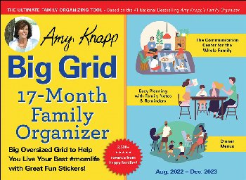 Amy Knapp's Big Grid Family Organizer 2021