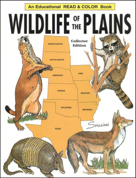 Wildlife of the Plains Coloring Book
