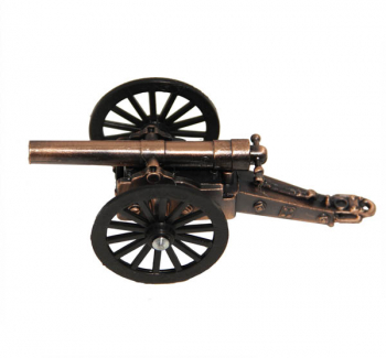Civil War Cannon Pencil Sharpener (Historic Weapons Pencil Sharpeners)