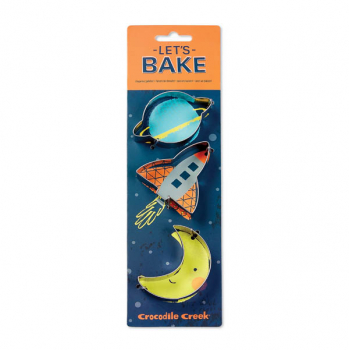 Let's Bake Cookie Cutters - Space
