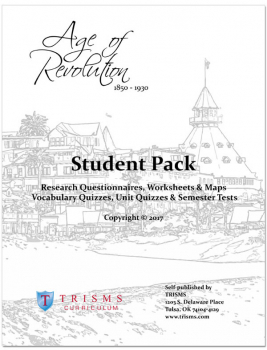 Age of Revolution (1850 - 1930) Student Pack 2017 Edition