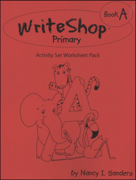 WriteShop Primary Book A Activity Set Worksheet Pack