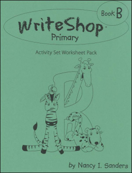 WriteShop Primary Book B Activity Set Worksheet Pack