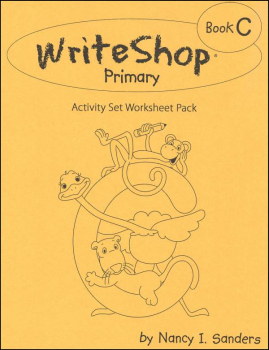 WriteShop Primary Book C Activity Set Worksheet Pack