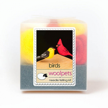 Needle Felting Kit: Birds