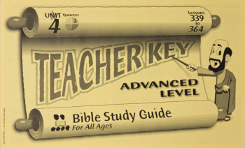 Advanced Teacher Key for Lessons 339-364