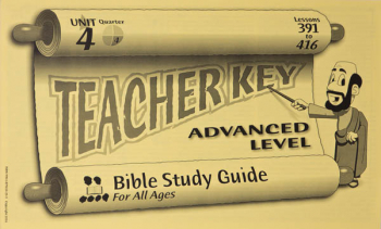 Advanced Teacher Key for Lessons 391-416
