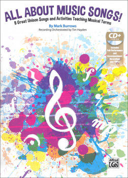 All About Music Songs! Book & CD