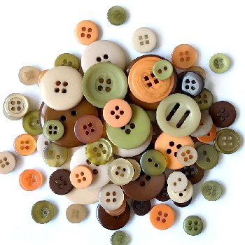 Buttons Galore Button Tote Cornucopia (3.5oz)