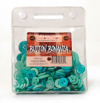 Waterfall Buttons (1/2 pound, reusable bag)