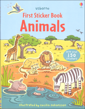 First Sticker Book - Animals (Usborne)