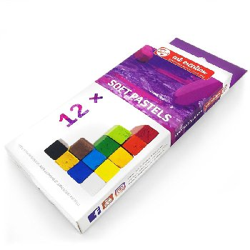 Talens Art Creation Soft Chalk Pastel set/12