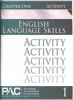 English I: Language Skills Chapter 1 Activities