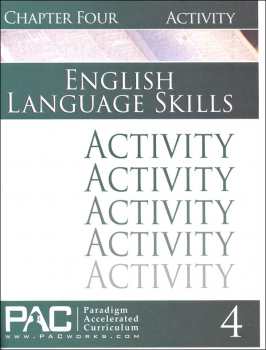 English I: Language Skills Chapter 4 Activities