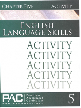 English I: Language Skills Chapter 5 Activities