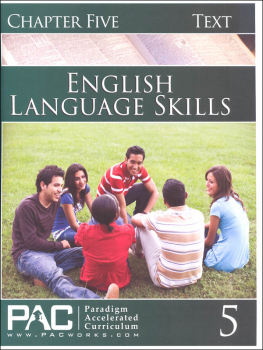 English I: Language Skills Chapter 5 Text