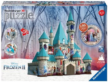 Frozen Castle 3D Puzzle - 216 piece (Disney Frozen)