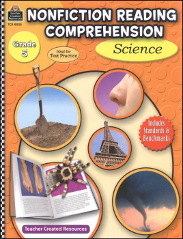 Nonfiction Reading Comprehension - Science Grade 5