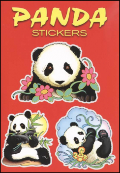 Panda Small Format Stickers