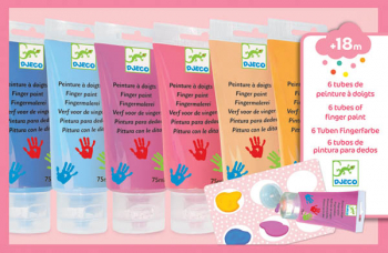 Finger Paint Tubes - Sweet (Pack of 6)