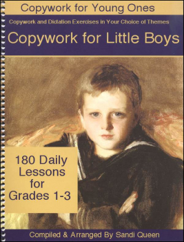Copywork for Little Boys