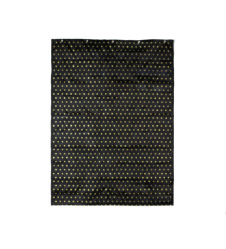 Essential Pocket Chart: Gold Polka Dot