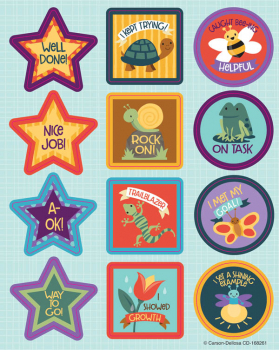 Nature Explorers Motivational Stickers