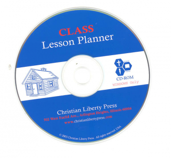 Class Lesson Planner CD-ROM