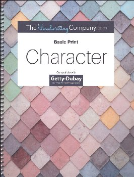 Character Italics Getty Dubay - Level I Basic Print