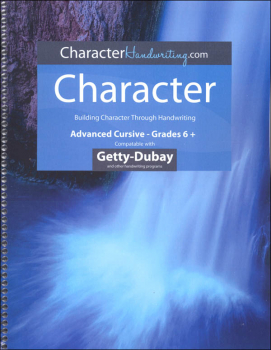 Character Italics - Level III Advanced Cursive